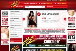 Hotlips seksikauppa - 15 vuotta seksivälineiden ja lelujen myyntiä verkossa